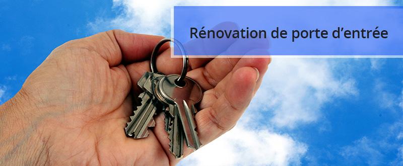 Rénovation de sa porte d'entrée en Savoie et Haute-Savoie