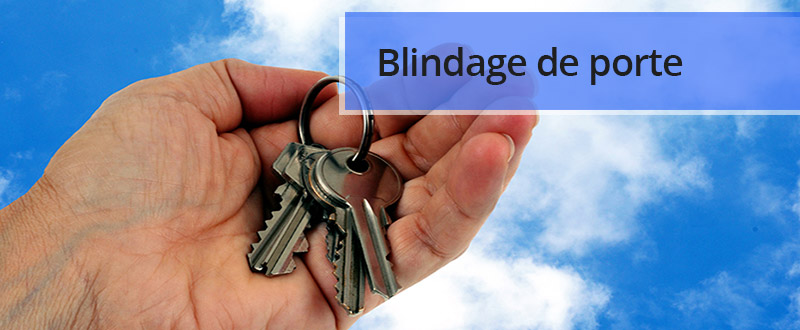 Blindage de porte à Annecy