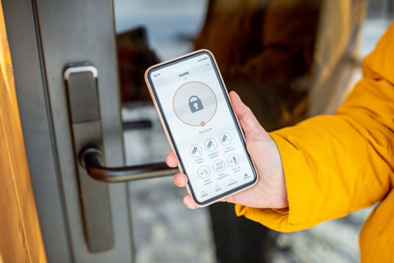 Serrure connectée avec application mobile