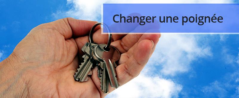 Changer sa poignée de porte