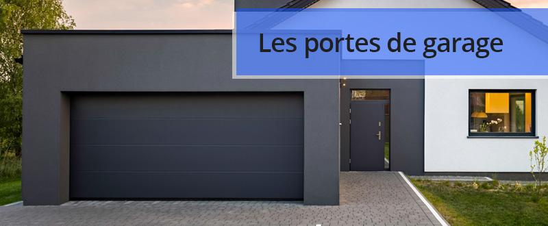 Les différents types de portes de garage