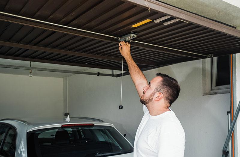 Avantages de la porte de garage basculante